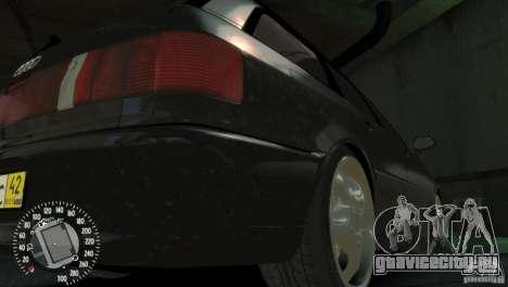 Audi RS2 Avant для GTA 4 вид изнутри