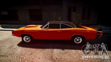 Dodge Charger RT 1969 tun v1.1 спортивный для GTA 4 вид слева