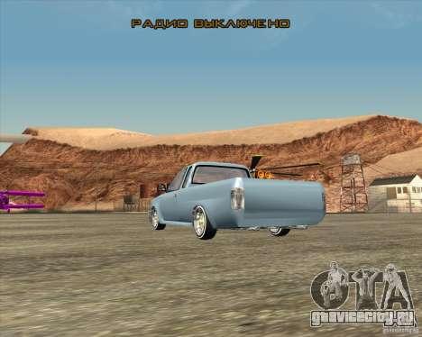 Toyota Hilux Surf Tuned для GTA San Andreas вид слева