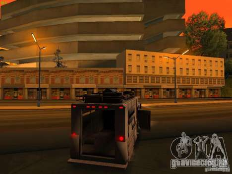 Monster Van для GTA San Andreas двигатель