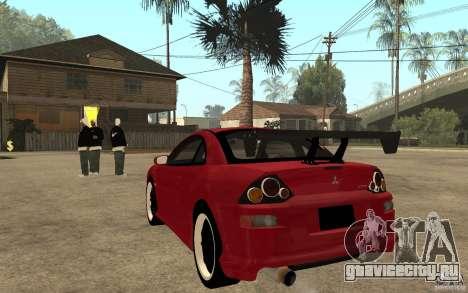 Mitsubishi Eclipse 2003 V1.0 для GTA San Andreas вид сзади слева