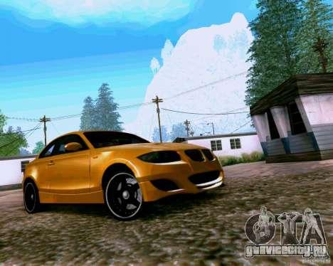 BMW 135 Tuning для GTA San Andreas