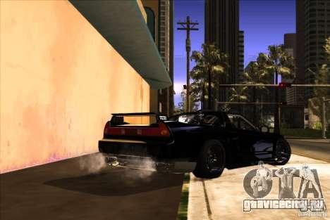 Acura NSX Tuned для GTA San Andreas вид сбоку