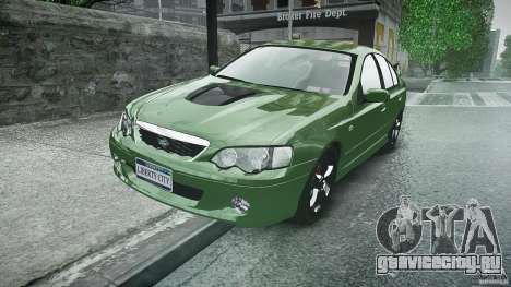 Ford Falcon XR8 2007 Rim 1 для GTA 4 вид сзади