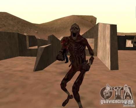 Zombie Half life 2 для GTA San Andreas четвёртый скриншот