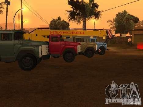 ЗиЛ 133 для GTA San Andreas вид справа