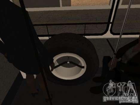 Прицеп к Икарусу 280.46 для GTA San Andreas вид сзади