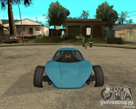 AP3 cobra для GTA San Andreas вид сзади
