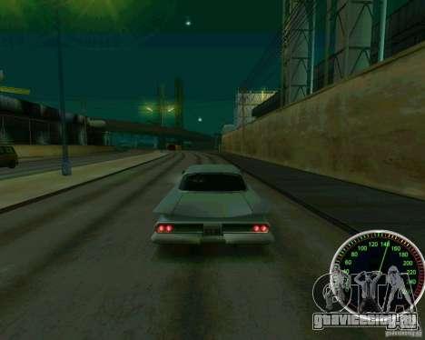 Спидометр для GTA San Andreas четвёртый скриншот