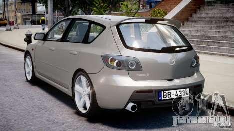 Mazda 3 2004 для GTA 4 вид сверху