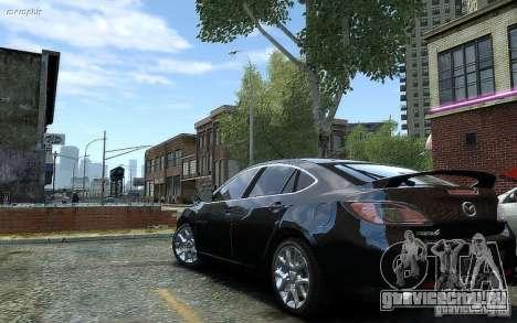 Mazda 6 2008 для GTA 4 вид слева