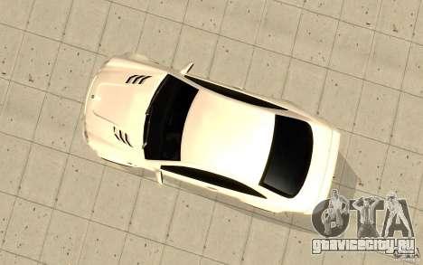 Mercedes-Benz CLK 500 Kompressor для GTA San Andreas вид сзади
