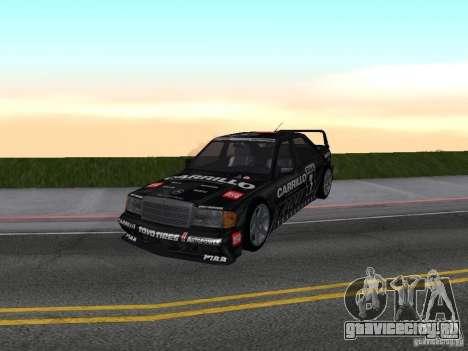 Mercedes-Benz 190E Racing Kit1 для GTA San Andreas