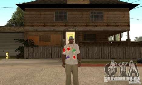 Gotcha Shirt для GTA San Andreas