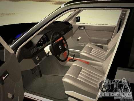 Mercedes-Benz E250 V1.0 для GTA San Andreas вид сбоку