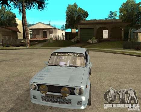 ВАЗ 2101 Тюнинг для GTA San Andreas вид сзади