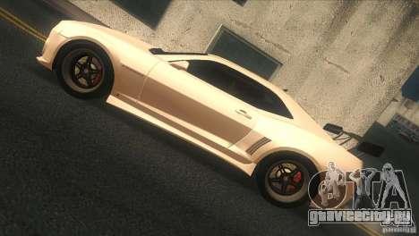 Chevrolet Camaro SS Dr Pepper Edition для GTA San Andreas вид сзади слева