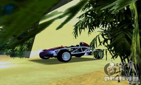 Ariel Atom для GTA San Andreas вид слева