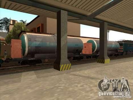 Цистерна №57929572 для GTA San Andreas вид слева