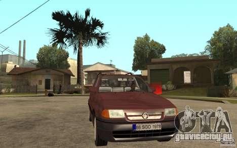 Opel Astra SW 1.6 1994 для GTA San Andreas