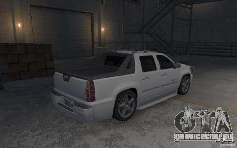 Chevrolet Avalanche v1.0 для GTA 4 вид справа