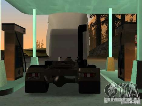 МАЗ 5440 для GTA San Andreas вид сзади слева
