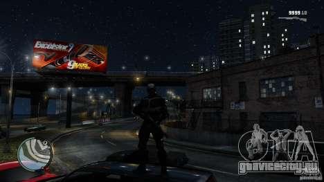 Crysis 2 NanoSuit v4.0 для GTA 4 четвёртый скриншот