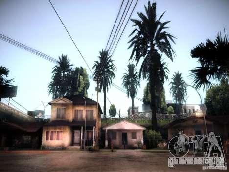 New trees HD для GTA San Andreas
