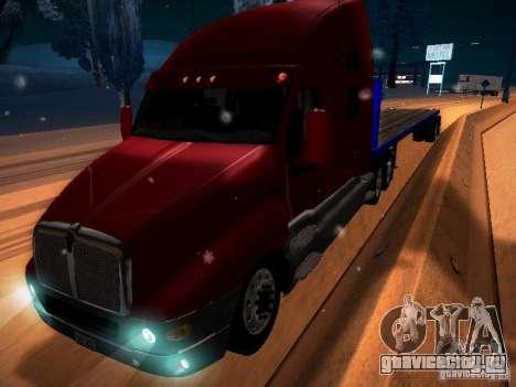 Trailer Artict2 для GTA San Andreas вид сзади слева