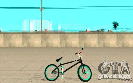 REAL Street BMX mod Black Edition для GTA San Andreas вид слева