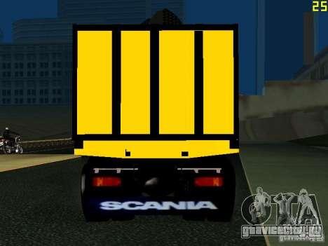 Scania 113H для GTA San Andreas вид сзади слева