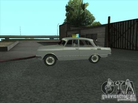 Москвич 2140 SL для GTA San Andreas вид слева