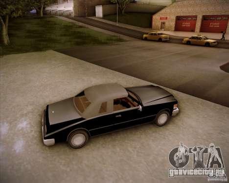HD Idaho для GTA San Andreas вид изнутри