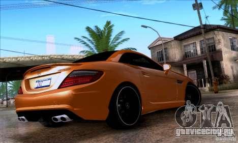 Mercedes Benz SLK55 R172 AMG для GTA San Andreas вид слева