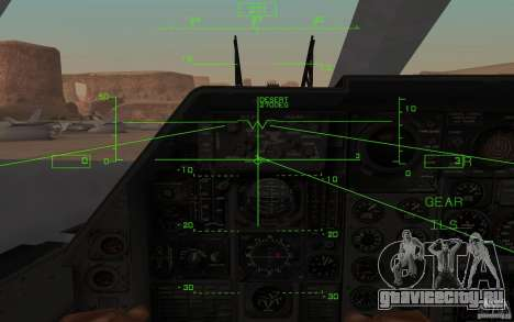 B1-B LANCER для GTA San Andreas вид справа