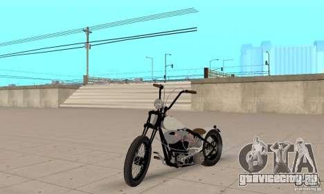 HD Shovelhead Chopper v2.1-матовый для GTA San Andreas