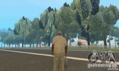 Обновлённый заброшенный аэропорт в пустыне для GTA San Andreas седьмой скриншот