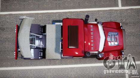 Peterbilt Sport Truck Custom для GTA 4 вид справа