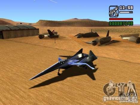 ADF01 Falken для GTA San Andreas вид слева