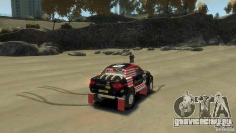 Mitsubishi L200 Rally для GTA 4 вид сзади слева