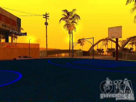 Баскетбольная площадка для GTA San Andreas пятый скриншот