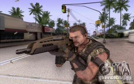 HK XM8 eotech для GTA San Andreas третий скриншот