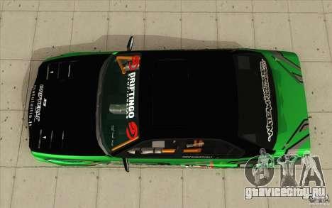 BMW E34 V8 Wide Body для GTA San Andreas вид справа