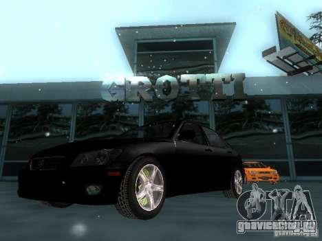 Lexus IS300 для GTA San Andreas салон