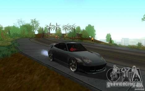Ruf R-Turbo для GTA San Andreas вид сзади
