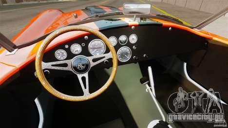 AC Cobra 427 для GTA 4 вид справа