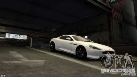 Aston Martin Virage 2012 v1.0 для GTA 4 колёса