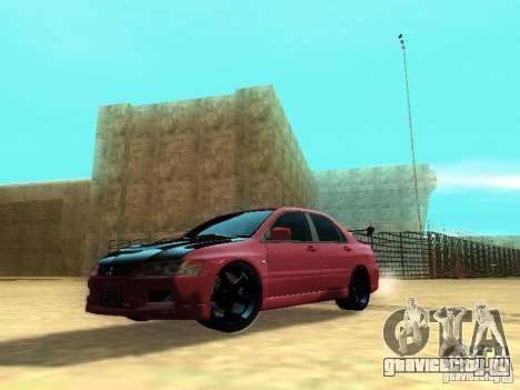 Mitsubishi Lancer IX MR для GTA San Andreas