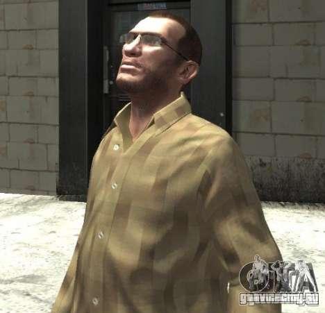 Новые очки для Нико - светлые для GTA 4 второй скриншот