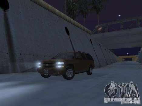 Chevrolet Suburban 2003 для GTA San Andreas салон